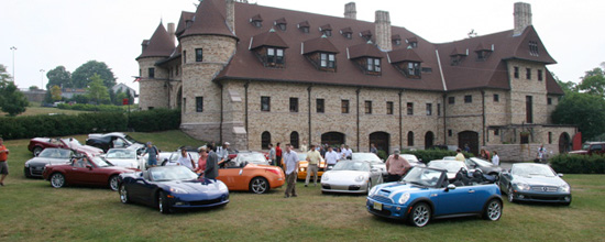 Each year NEMPA media and members cruise up the New England Coast driving and judging current model year ragtop (convertible) vehicles. Enjoy some photos of this year's ramble courtesy Gene Ritvo