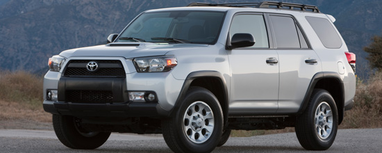 Toyota brought a pair of these new 4Runners - a prototype and early production model - to a meeting of the New England Press Association (NEMPA) at The Boston Globe on Nov. 10.