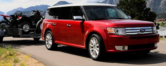 The 2010 Ford Flex equipped with Ford's innovative 355-horsepower turbocharged EcoBoost engine has taken home the prestigious title, Official Winter Vehicle of New England.  In addition to the Flex, twelve other models were also awarded for their all-season and winter performance traits by the New England Motor Press Association.