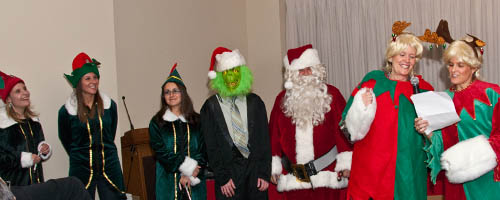 This year's annual New England Motor Press Association Holiday Party was a hit! Santa and his elves once again arrived in style.