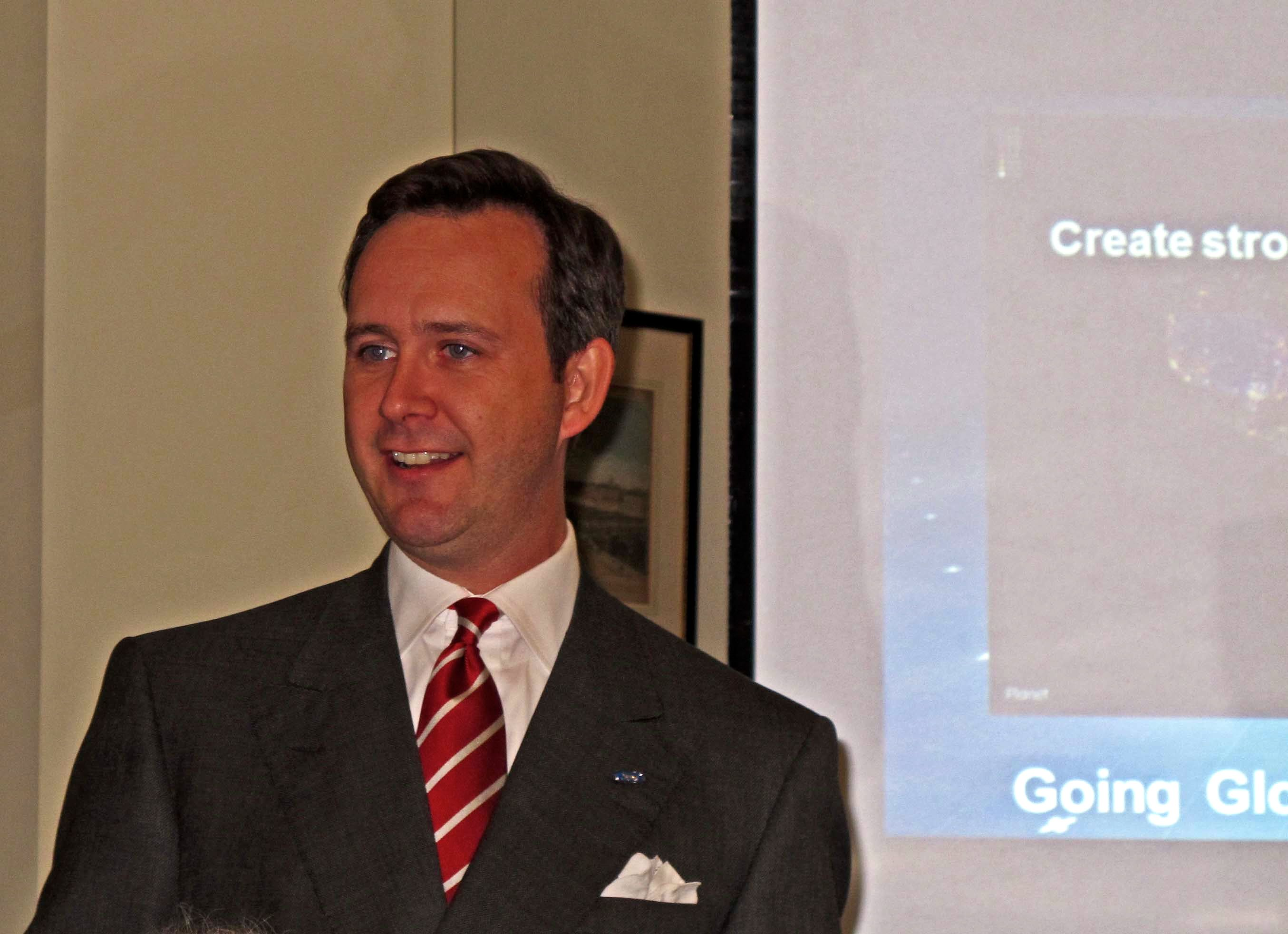 Some of us have to be circumspect in accessing SM—social media—during our workday. Not Boston native Scott Monty, Ford's global manager for digital media. His day job is to find imaginative ways to employ Facebook, blogs, podcasts, Instagram, Tumblr, YouTube and all the other planets in today's Twitterverse to promote the Ford brand.