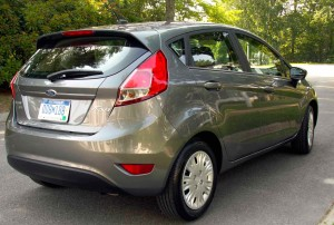 The 2014 Ford Fiesta SFE in five-door hatchback configuration.