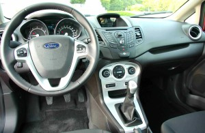 "As its interior makes clear, the ""baby EcoBoost' Fiesta is no econobox stripper."