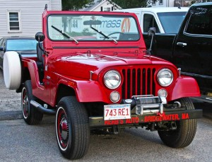 'No, you can't take it home for the week.' Gary Benson's 1974 CJ5.