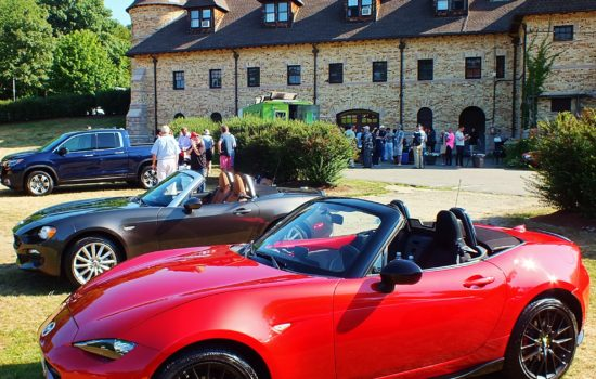 2016 NEMPA Ragtop Ramble kicking off at the  Larz Anderson Auto Museum in Brookline, MA on July 21, 2016.