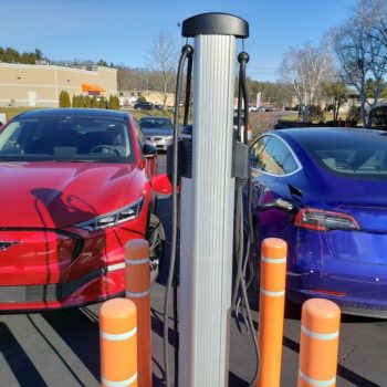 mustang mach-E charging with Model 3